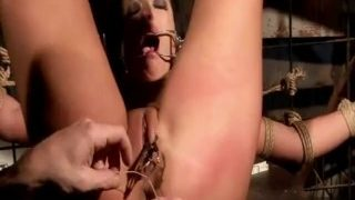 This Dom is in his BDSM dungeon with an absolutely